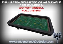 ~~ Full perm Craps tables + maps & textures
