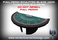 ~~ Full perm Blackjack table + maps & textures