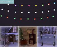 {what next) Amalfi 'Holiday' String Lights Set