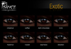 Ibanez Exotic Eyes - Fatpack (All 8 Colors)