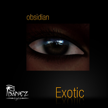 Ibanez Exotic Eyes - Obsidian