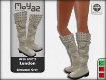 London Mesh Boots - Schnuppel grey
