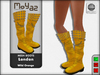 London Mesh Boots - Wild Orange