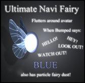 Ultimate Navi Fairy Follower (Blue)
