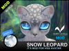 [MOD] NO.01.G ::Snow leopard:: Blue