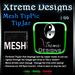 Mesh TipPic TipJar - Color Change