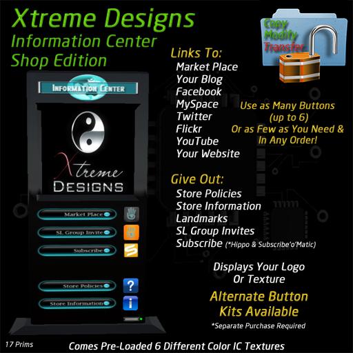 Information Center - Shop Edition -