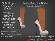 Roxie Demo Mesh Pumps v1