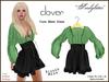 *Soulglitter* Tunic Mesh Dress - Mint & Clover