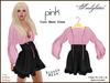 *Soulglitter* Tunic Mesh Dress - Pink & Fuchsia