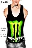 *Twak* Mesh Shirt Monster