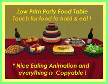Happy Celebrations Party Food Table ~ Touch to Eat!!
