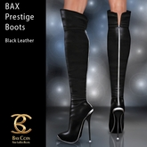 BAX Prestige Boots Black Leather