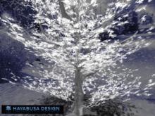 Winter Tree lightly white, Copy&Modify, 2 prims