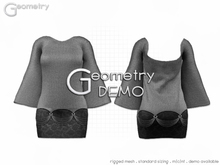 <Geometry> Seattle > DEMO (rigged mesh in standard sizes)