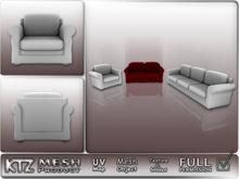 Mesh object - Full Permission ! Sofa Set, 6Prims!