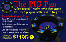 The Pig Pen - A Greedy Style Dice Game