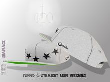 CREDO - Star Snapback {White}