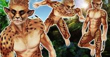 ( Y ) pixel puss ( Y ) Cheetah MALE Avatar (nohair)