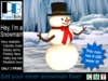 Advert   hey im a snowman