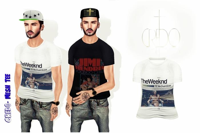 "CREDO - ""Weeknd Til We Overdose Tee"""