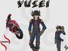 Yusei Mesh Avatar