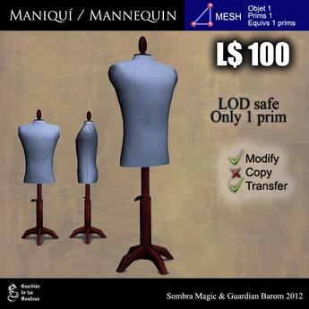LOW PRIM - Maniqui hombre / Man mannequin (G&S)