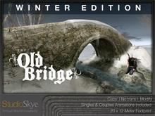 WINTER EDITION The Old Bridge from Studio Skye 100% MESH