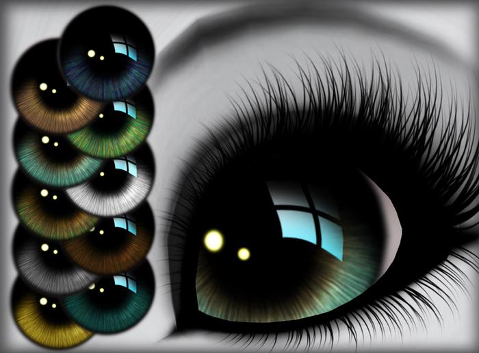 Reflective Eyes - Naturals
