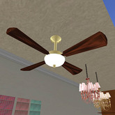 Ceiling Fan (only 2 prims!)