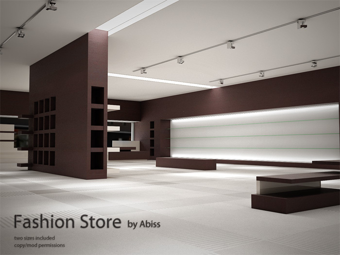 Fashion Store by Abiss - commercial shop mesh prefab