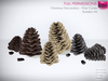 Full Perm Christmas Decoration - Mesh Pine Cones - Builder's Kit