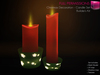 Full Perm Mesh Christmas Decoration - Candle Set - Builder's Kit