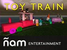 Rideable Toy Train NIAM
