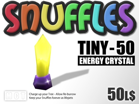 Snuffles Breedables Energy - 50 Energy Crystals - Genetic Breeding System - Trade Burrows - Farm Resources