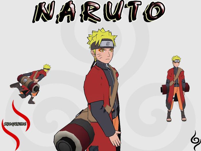 Sage Mode Naruto Mesh Avatar 2.0