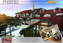 PROMO- PHOENIX -  Mesh House - Full scripted and interactive contemporary skybox 1NNOVAT1ON Design home.