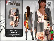 Beau Mesh Dress ~ xmas edition - Frosty