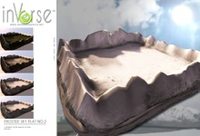 inVerse™- Frosted sky platform privacy screen (no2) resizable, 5 different textures