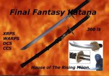 katana Final Fantasy Katana. sword.
