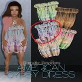 American Gypsy - Dress3[pink blue] - PROMO PRICE!!
