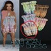 American Gypsy - Dress1[pale pastels] - PROMO PRICE!!