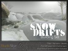 Skye Snow Drift Building Set - 100% MESH