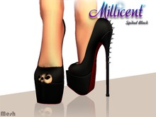 .:*Millicent*:. Spiked Black
