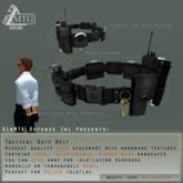 D1&MTG - Duty Belt plus transferable handcuffs
