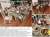 <HEART HOMES> Family Holidays Dining Room Set- Christmas table for the family!