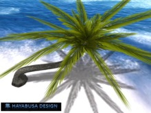 Realistic Palm, 2 Prims, Realistic Foliage shape, Copy&Modify