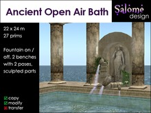 Ancient Open Air Bath ** Price lowered **