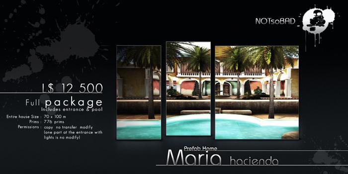 .:NsB:. MARIA Hacienda House (Full package)