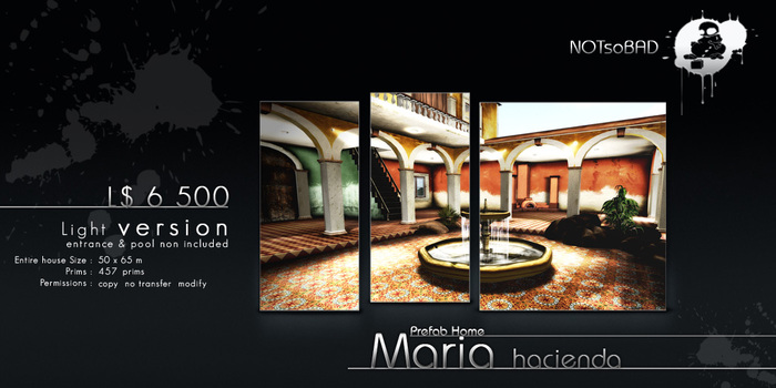 .:NsB:. MARIA Hacienda House (Small version)